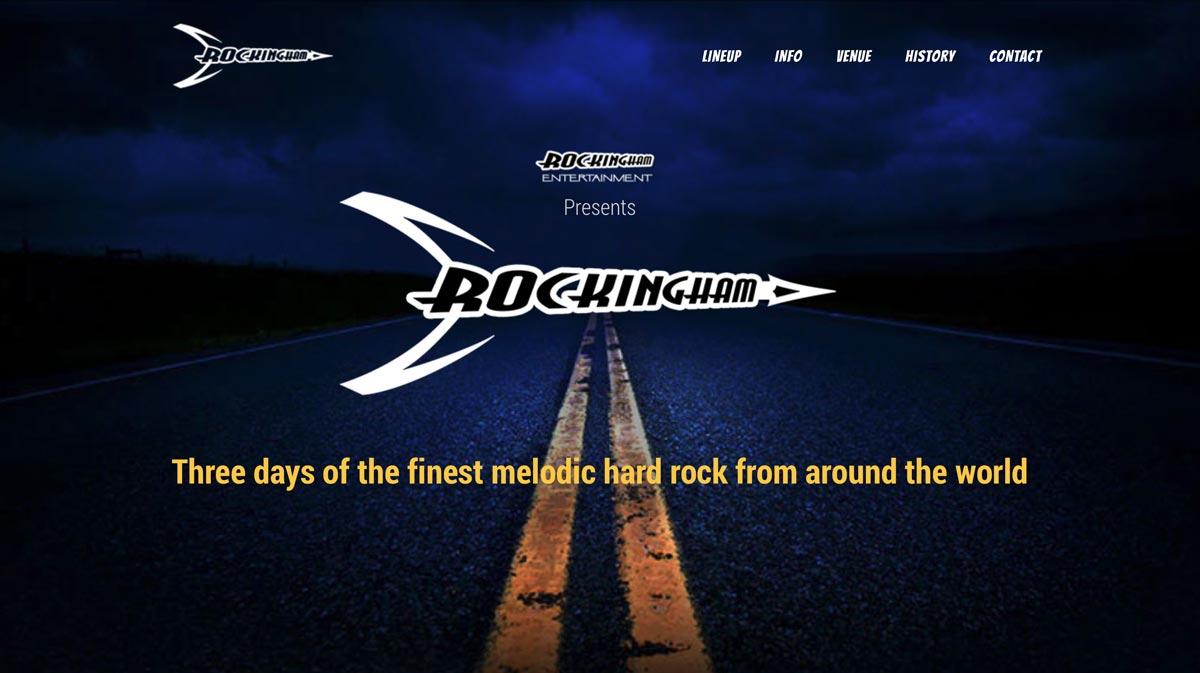 Web Design - Rockingham Live